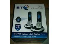BT 2700 Nuisance Call Blocker Twin