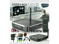 M10 ANDROID METAL TV BOX. MOVIES SPORTS CHANNELS