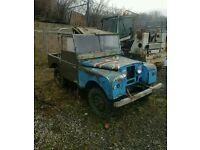 Wanted Series 1 Land Rover classic car.