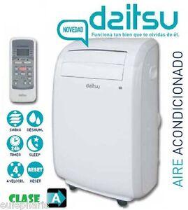 Aire acondicionado portatil daitsu 2269 frigorias apd9 al - Aire condicionado portatil ...