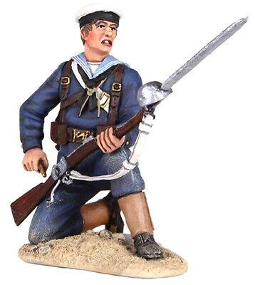 BRITAINS SUDAN WAR 27060 BRITISH NAVAL BRIGADE SAILOR KNEELING LOADING RIFLE MIB