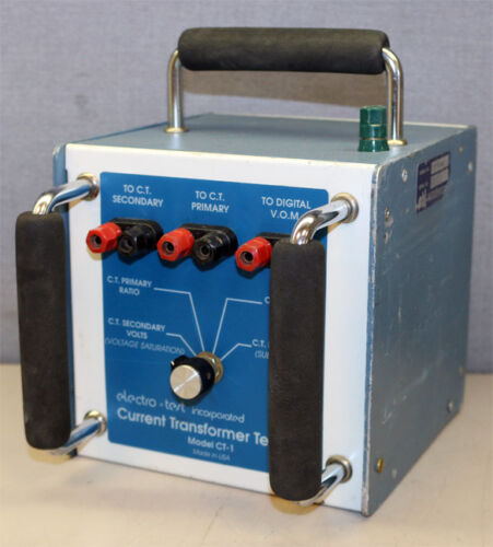 Electro-Test Inc. ETI CT Current Transformer Test Unit Tester CT-1