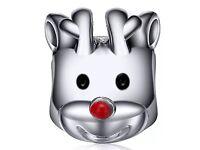Reindeer pandora charm