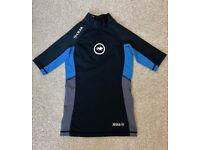 Hot Tuna UV 50+ Protection Swim Top/Rash Vest/Swimming T-Shirt suitable for 7-8 years