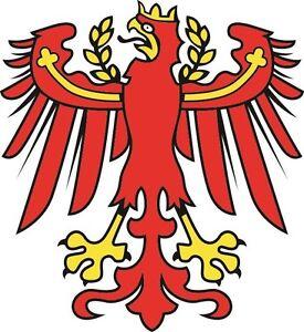 Aufkleber Südtirol Adler Autoaufkleber Sticker Konturschnitt