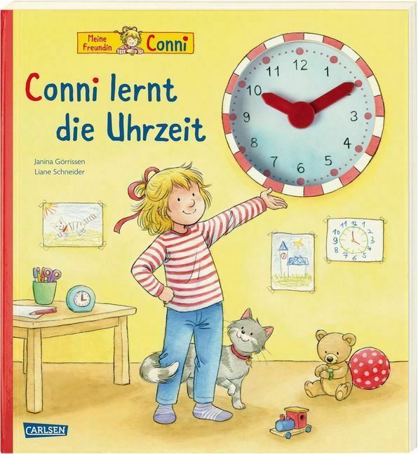 Conni-Bilderbücher: Conni lernt die Uhrzeit
