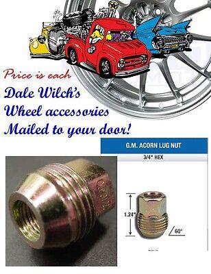 Gm Chevy Passenger Car External Thread Lug Nut Factory Style 7/16 Stud Size