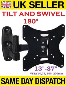 3D LCD TV SWIVEL TILT WALL MOUNT BRACKET 15 17 19 22 26 32 37