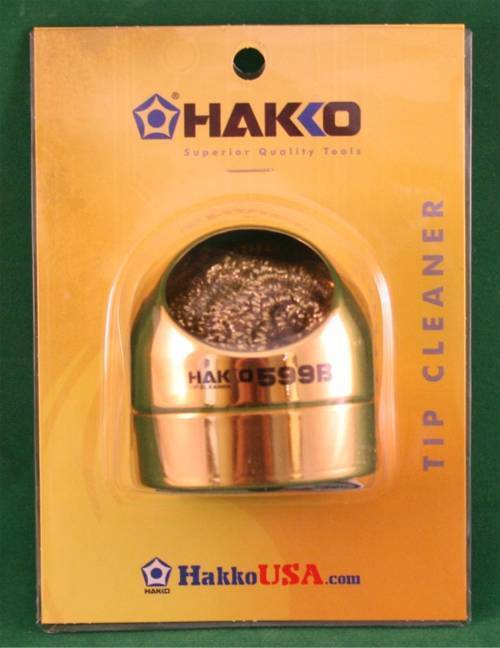 Hakko Soldering Iron Tip Cleaner - Better than a sponge!