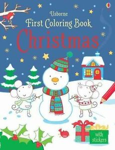 First Colouring Christmas Paperback