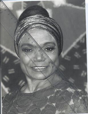 Foto amerikanische Sängerin EARTHA KITT- Vintage von 1989 Pressefoto - Jazz USA
