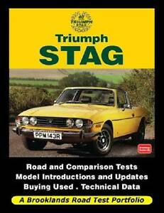 Triumph Stag Road Test Portfolio by R M Clarke Blacktown Blacktown Area Preview