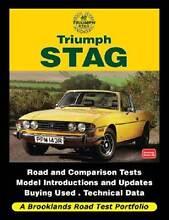 Triumph Stag Road Test Portfolio by R M Clarke Blacktown Blacktown Area Preview