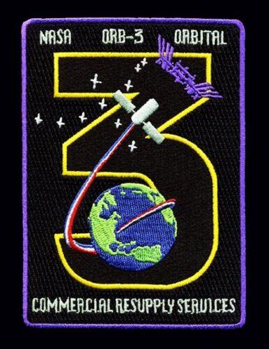 OA-3 Cygnus Mission ORBITAL ATK - ISS NASA RESUPPLY - ORIGINAL AB Emblem PATCH