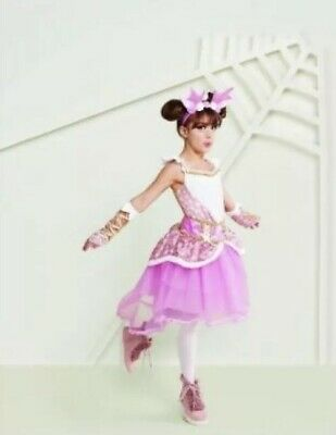 Magical Ballerina Fawn Hyde Eek Boutique Girl's Halloween Costume Size Large - Girl Ballerina Halloween Costume
