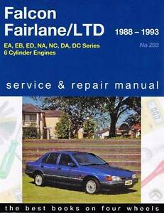 Ford Falcon / Fairlane / LTD 1988 - 1995 Gregorys Owners Service Blacktown Blacktown Area Preview