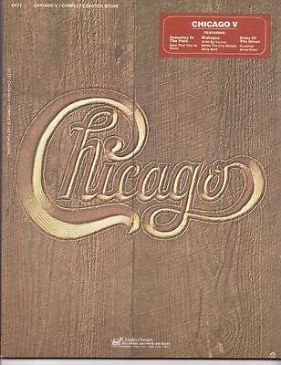 CHICAGO V Complete SKETCH SCORE Songbook OLD STORE STOCK