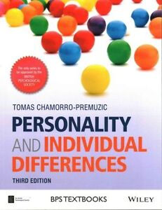 Personality and Individual Differences (BPS Textbooks in Psychology), Chamorro-P