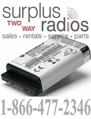 New Oem Motorola Dtr650 Dtr550 Dtr410 Li-ion High Capacity Battery 53964