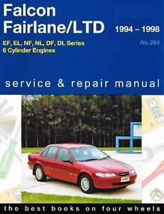 ord Falcon / Fairlane / LTD 1994 - 1998 Gregorys Repair Manual Blacktown Blacktown Area Preview