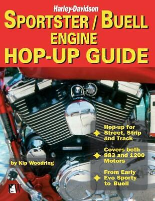 Harley-Davidson Sportster/Buell Engine Hop-Up Guide~Planning~Parts~Oils~NEW! (Harley Engine Parts)