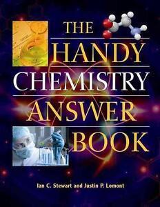 The Handy Chemistry Answer Book von Ian C. Stewart und Justin P. Lomont...