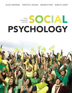Social Psychology (5th Can Edition) by Aronson et al.