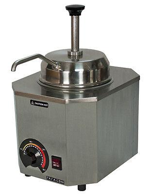 Nacho Cheese Dispenser Warmer Paragon 2028b Pump Pro Deluxe Hot Fudge Caramel