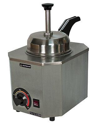 Nacho Cheese Dispenser Warmer Paragon 2028d Heated Spout Hot Fudge Caramel