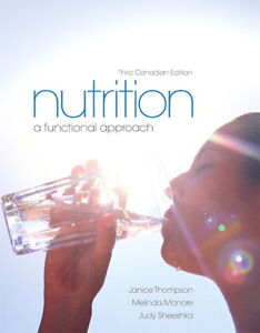 NUTRITION TEXTBOOK FOR SALE
