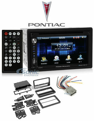 "In-Dash 6.5"" DVD/CD Player Receiver Monitor w/Bluetooth For 2003-08 Pontiac Vibe (Dvd-player In Dash)"