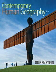 Textbook Contemporary Human Geography 3e: Rubenstein