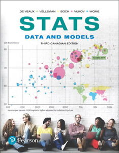 stats data and models third Canadian edition textbook hard copy