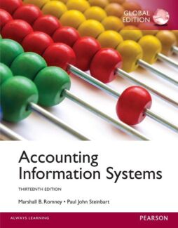 Accounting Information System 13th Edition Global Edition
