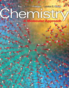 Chemistry - A Molecular Approach(1st Canadian Edition,Hardcover)