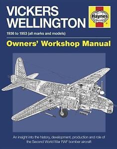 VICKERS WELLINGTON MANUAL  BOOK NEU