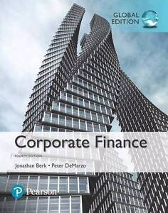 Corporate Finance (4th Edition) Jonathan Berk PDF Roxburgh Park Hume Area Preview