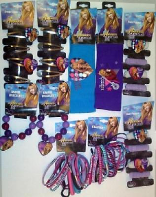 HANNAH MONTANA HAIR BANDS & BRACELETS PARTY GIFTS