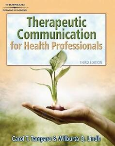 Therapeutic Communications for Health Care Textbook