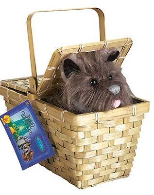 Wizard Oz Toto Basket Dorothy Dog Fancy Dress Up Halloween Costume Accessory