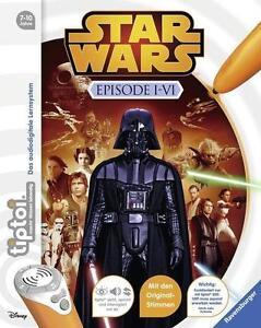 Ravensburger Tiptoi ® Star Wars Episode I-VI Wieso? Weshalb? Warum? Neu & Ovp