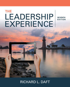Textbook - The Leadership Experience - Daft - will ship!