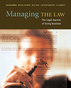 MANAGING THE LAW SECOND EDITION