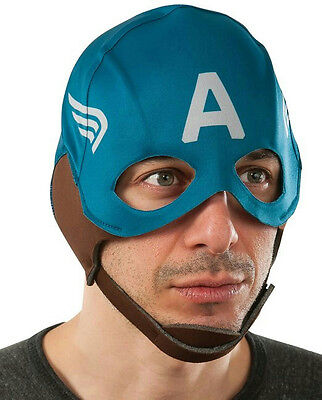 Rubie's Men's Marvel Universe Captain America Winter Soldier Retro Fabric Mask