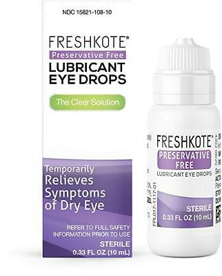 FRESHKOTE   LUBRICANT DRY EYE DROPS 10 ML BOTTLE, PRESERVATIVE FREE EXP