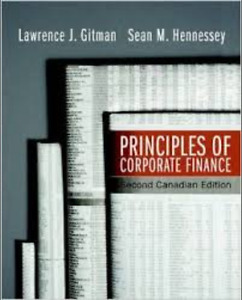 Principles of Corporate Finance: Second Canadian Edition