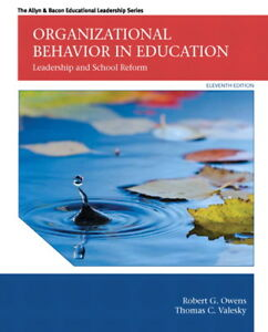 TEXTBOOK WANTED: Organizational Behavior in Education