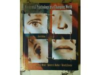 Abnormal psychology in a changing world by Nevid, Rathus & Greene