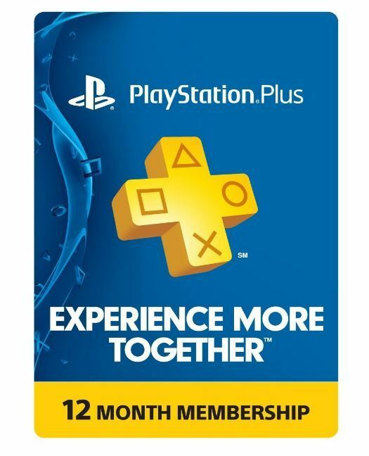 Изображение товара Sony PlayStation Plus 1 Year Membership Subscription Card - NEW!