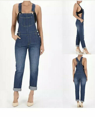 Vintage Overalls & Jumpsuits Denim overalls American Bazi blue womens size small $20.00 AT vintagedancer.com